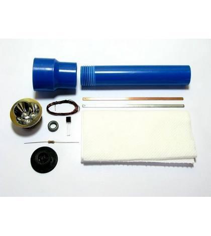 Необходимые элементы для фонарика на воде
