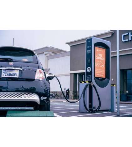 startup Volta believes charging an electric car