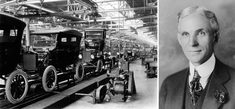 Генри Форд и Форд модели «Т»