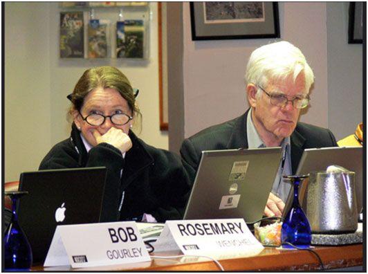 Линтон Уэлс II (справа) и Розмари Венчель