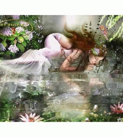 Нарцисс и дева
