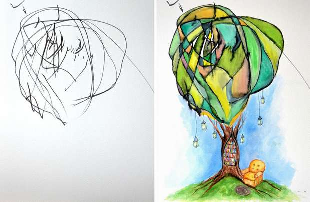 Может потребоваться целая жизнь на то, чтобы научиться рисовать, как ребенок!